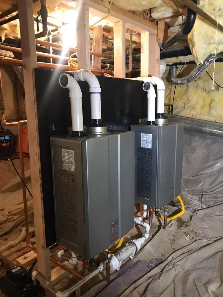 tankless water heaters Services